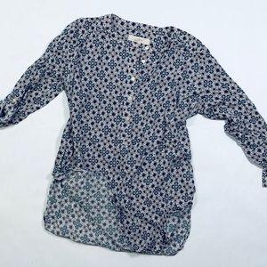 LOFT long-sleeves flower top